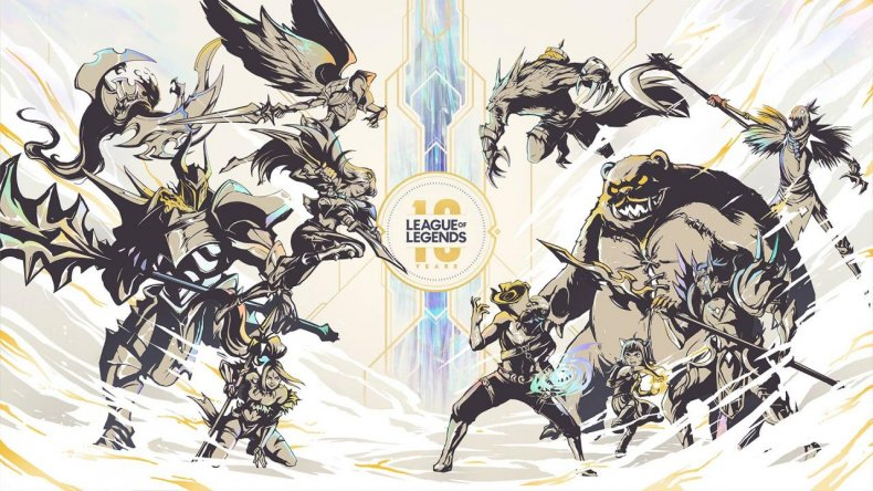 league of legends 10 year stream recap