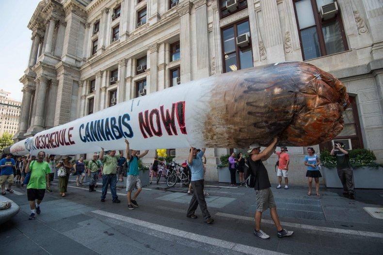 Legalize it protest