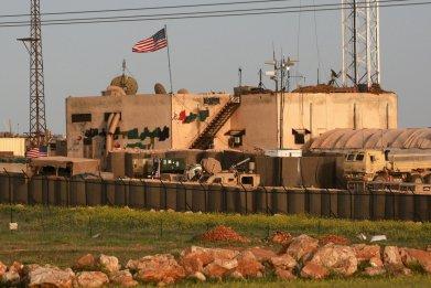 US, military, base, Syria, Manbij, Russia