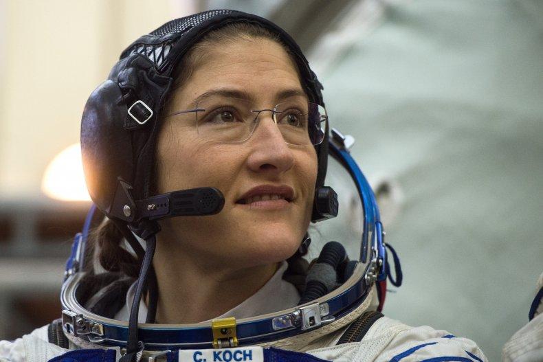 NASA, Christina Koch, female spacewalk, Cosmonaut