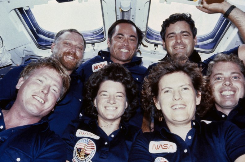 crew of NASA's Challenger mission