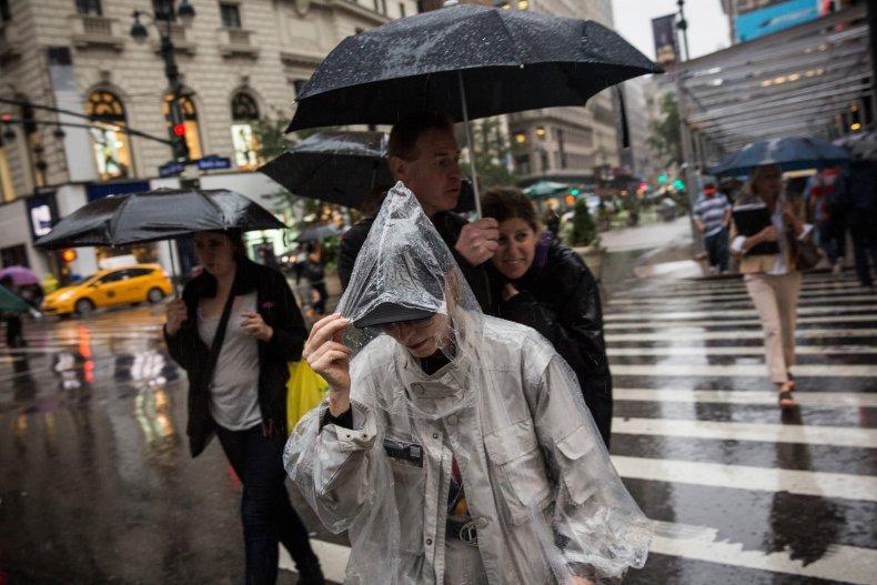 Rainfall in New York City