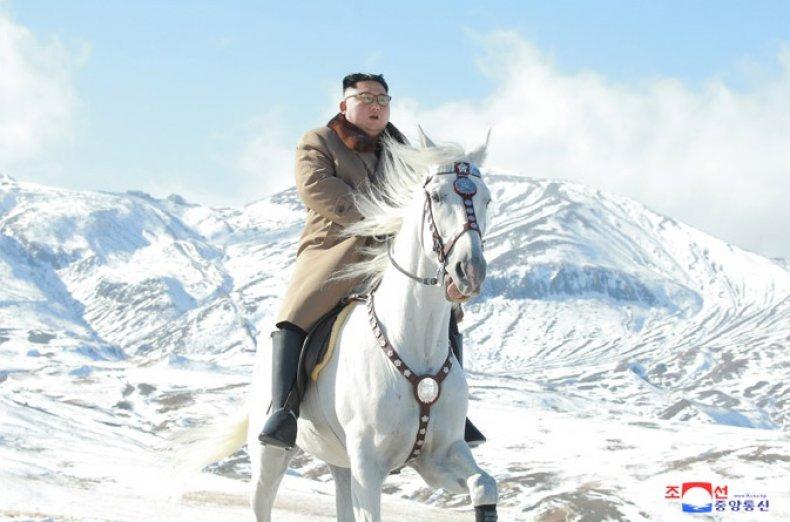 Kim Jong Un Mt Paektu