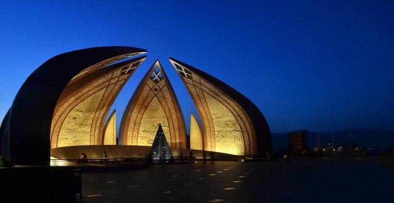 The Pakistan Monument
