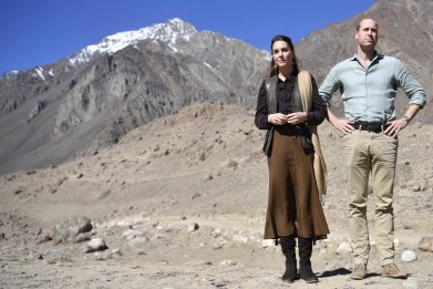 Prince William and Kate Middleton in Pakistan