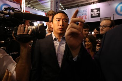 andrew yang fourth industrial revolution trump