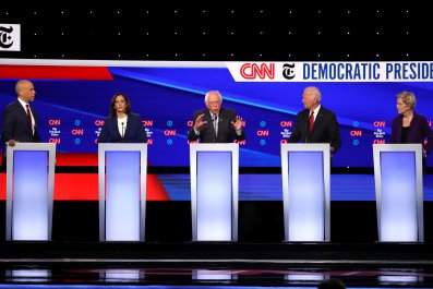 Candidates Debate for the Fourth Time