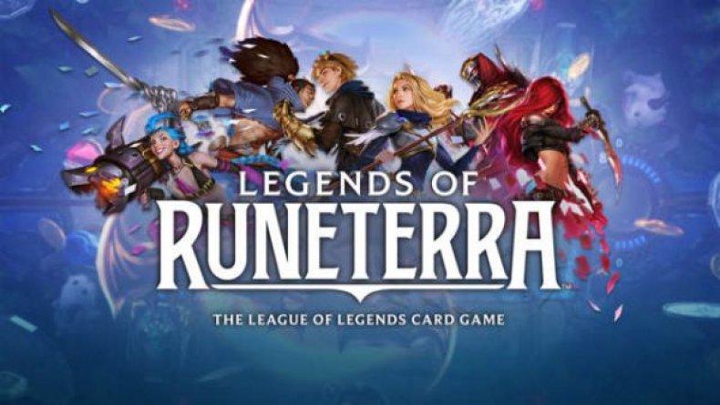 legends of runeterra card game of legends