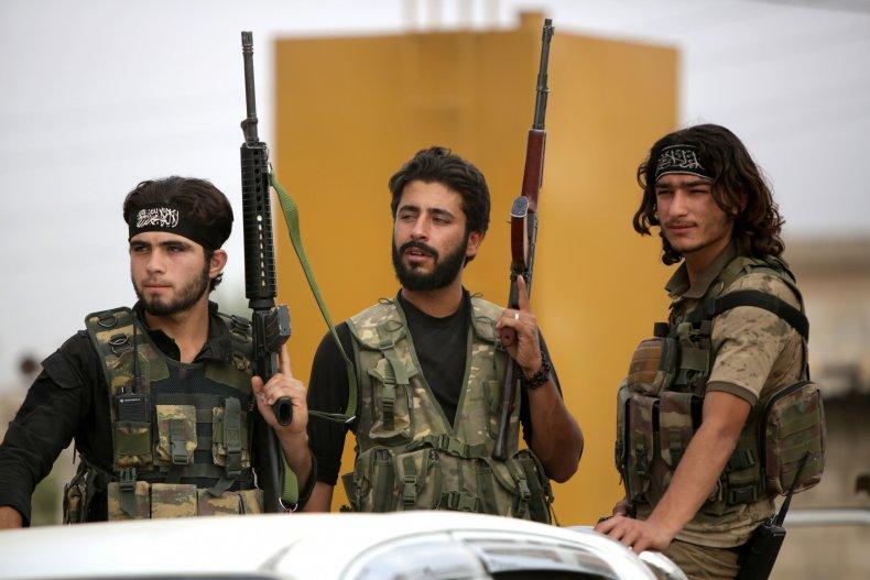 syria turkey rebels invasion kurds
