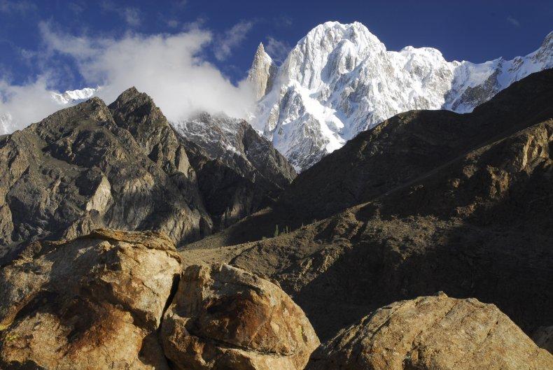 Hunza Peak in Pakistan