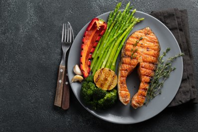ketogenic, diet, salmon, healthy, food, stock, getty