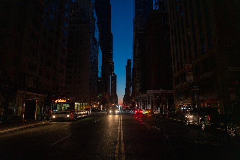 Power cut New York 2019