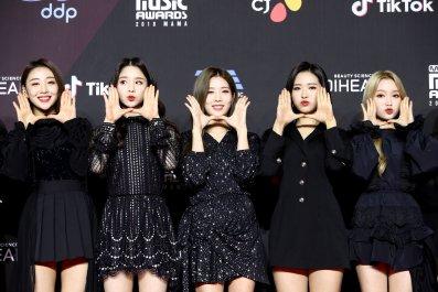 K-pop group LOONA