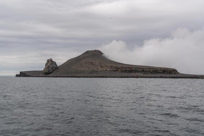 Bogoslof Island, Alaska, Bering Sea