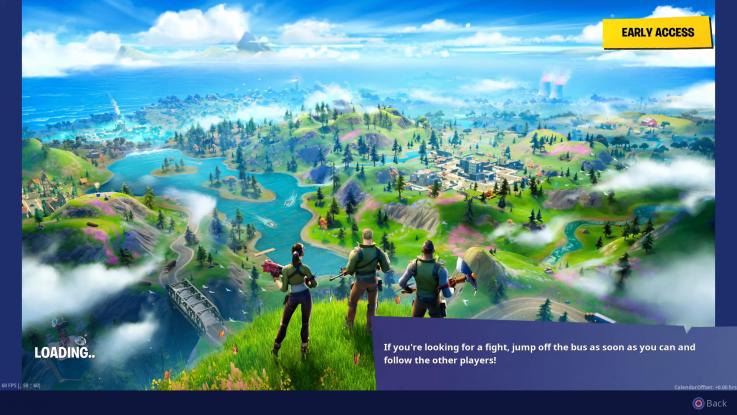 fortnite hidden f new world loading screen