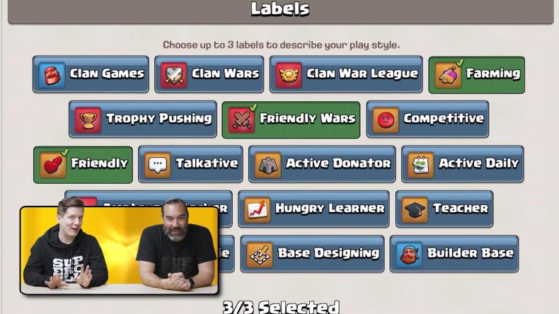 clash of clans october update clan recruitment