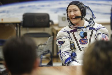 Christina Koch NASA Women Spacewalk