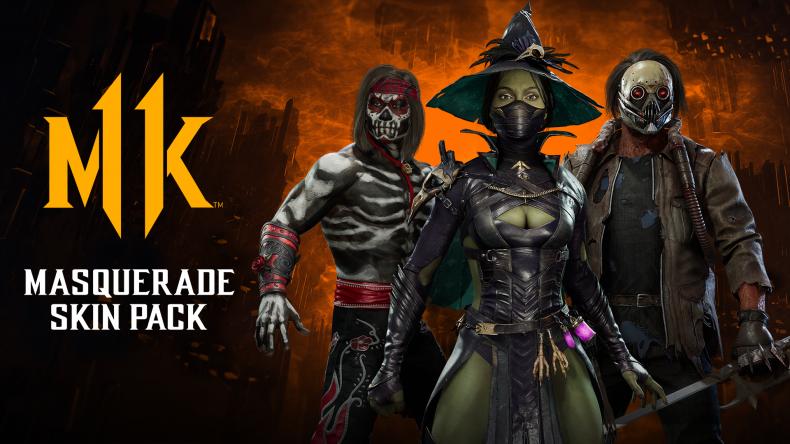 mortal kombat 11 masquerade skin pack halloween