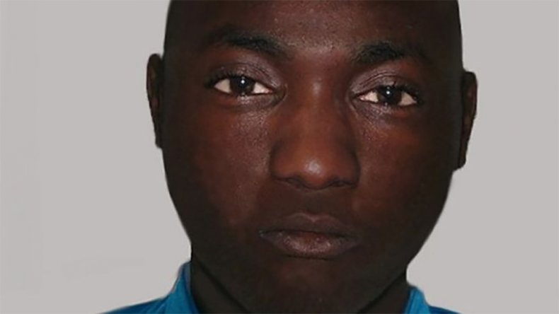 Composite image of man found in garden