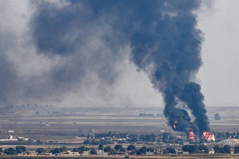 turkey attack north syria kurds