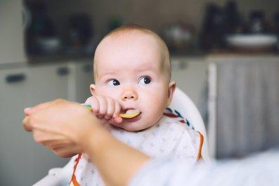 babies, eating