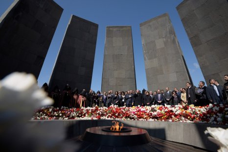 armenian genocide memorial yerevan ottoman empire