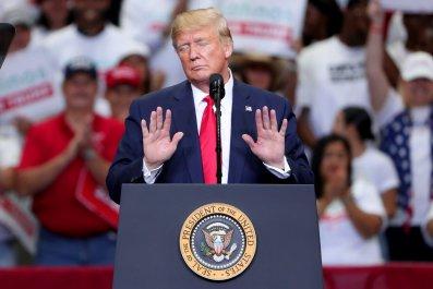 Donald Trump, Syria, rally, Dallas, Brett McGurk