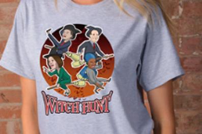 Nevada GOP witch hunt t-shirt