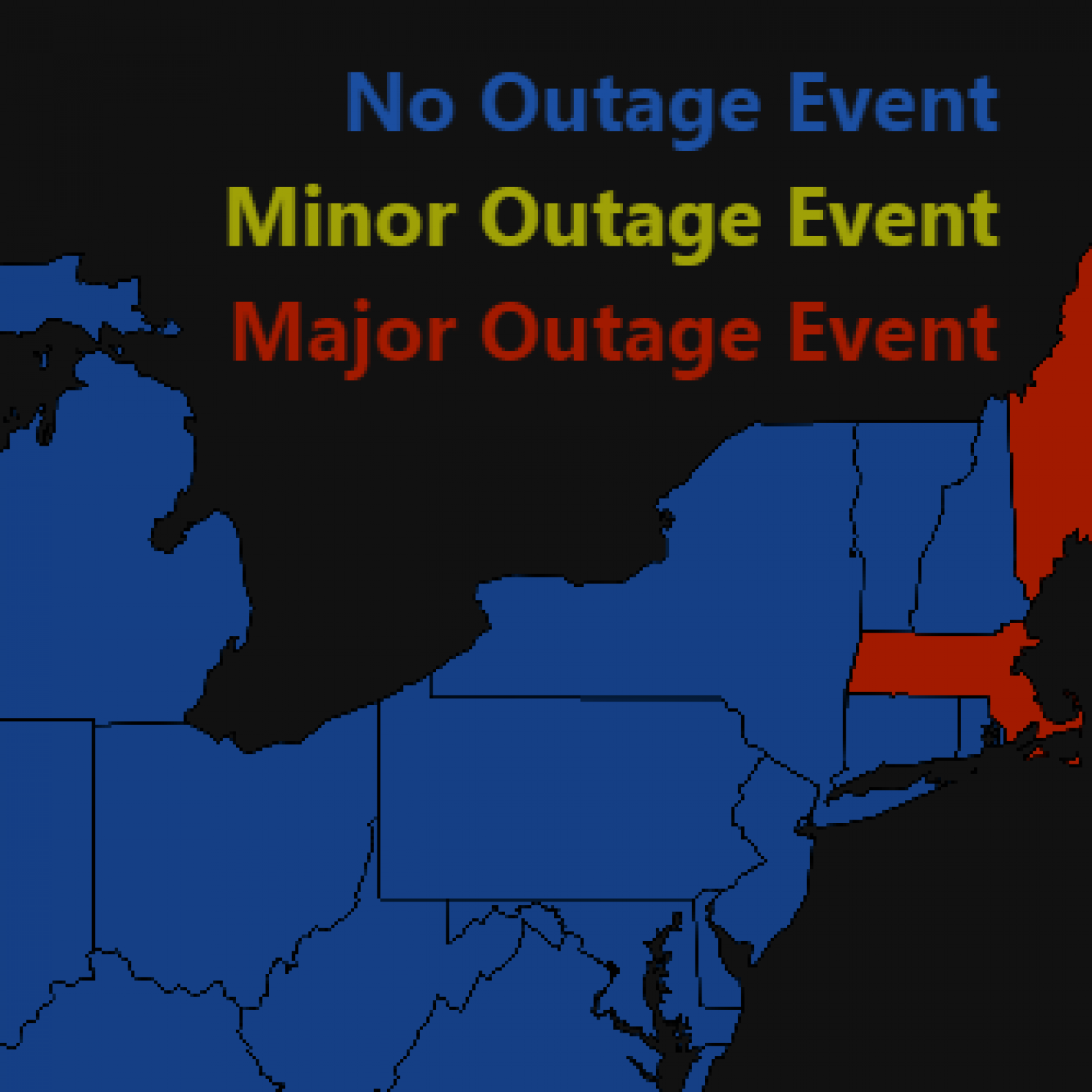 Mon Power Outage Map Power Outage Map: Thousands in Maine, Massachusetts Still in the