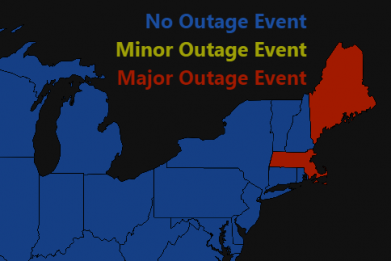power outage map