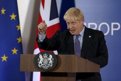 Boris Johnson UK PM EU