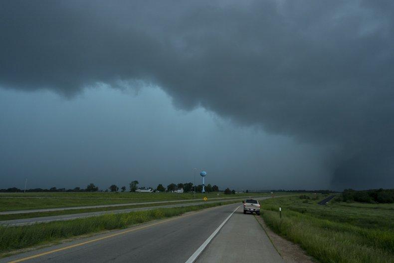 tornado, Kansas