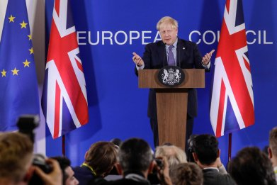 Boris Johnson talks Brexit vote