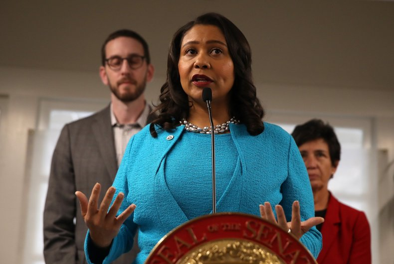 San Francisco Mayor London Breed Joins Local Lawmakers In Support Of Allowing Safe Injection Sites In The City
