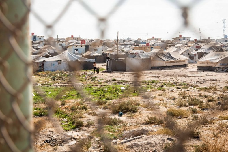 syria war hol refugee camp