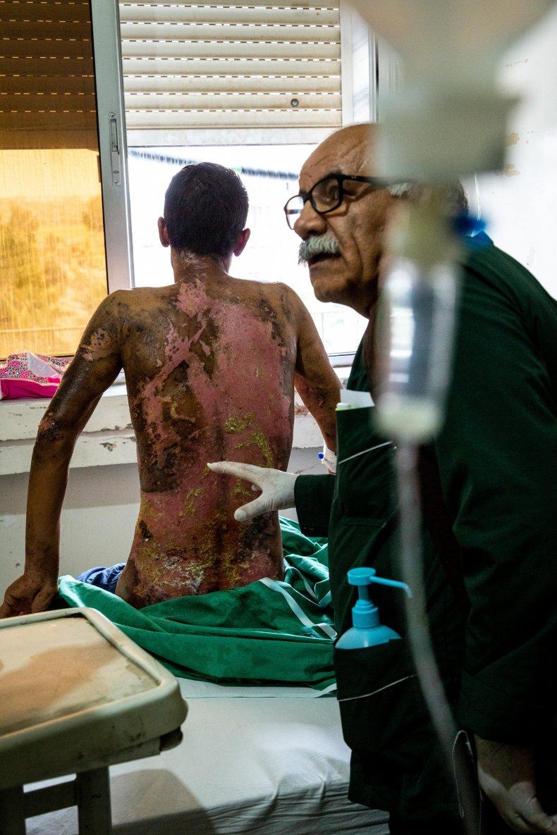 syria war doctor hospital injured