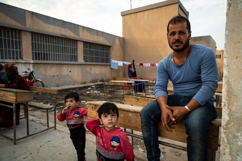 syria war young children school