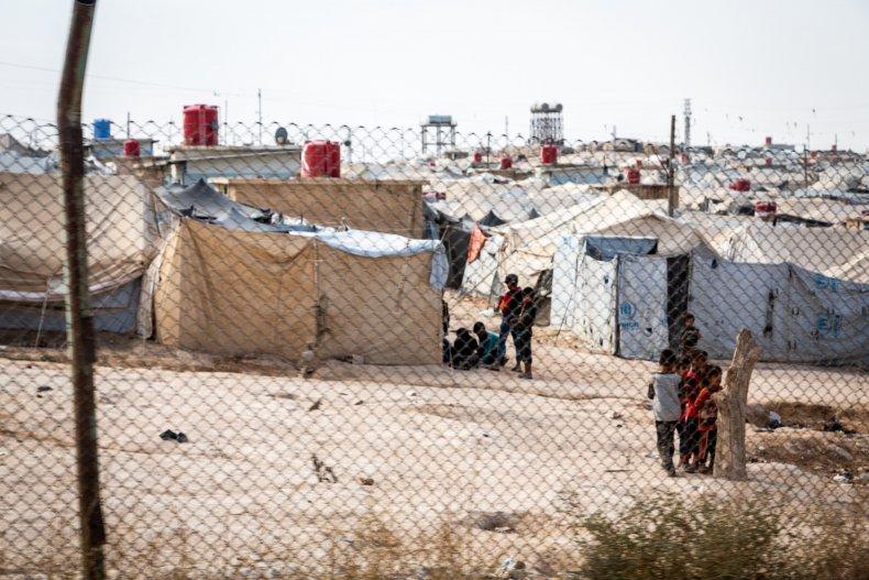 syria children hol camp conflict