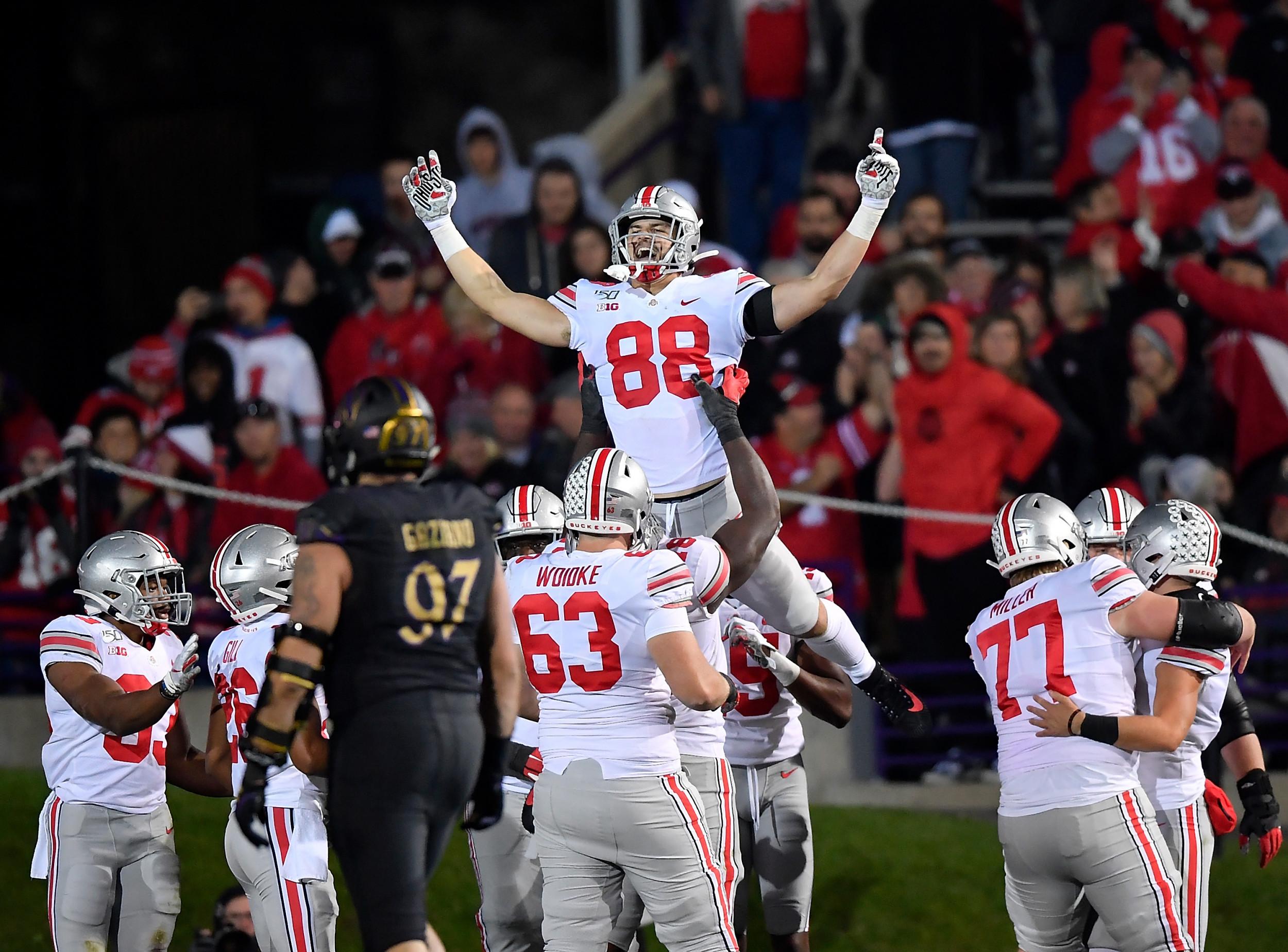 2019 College Football Schedule Latest Ap Rankings Week 9