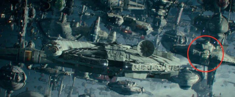 Ghost in Star Wars Rise of Skywalker