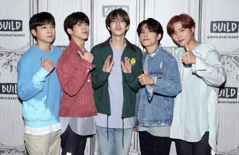 Day6 Kpop boy band