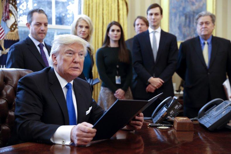 Donald Trump VA SNL Kellyanne Conway Kushner