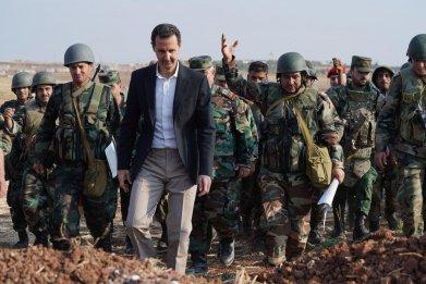 syria war zone assad idlib