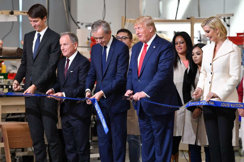 Louis Vuitton Ivanka Donald Trump