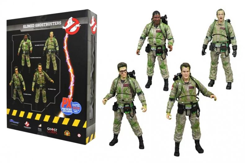 Ghostbusters Diamond Select Slimed Exclusive