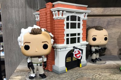 Ghostbusters Funko Pop Town Firehouse