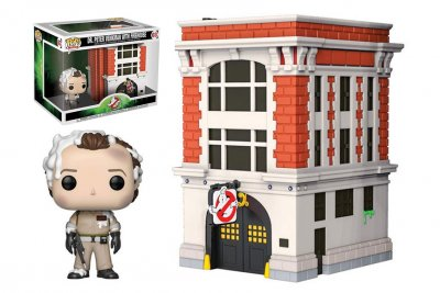Ghostbusters Funko Pop Town Firehouse 02