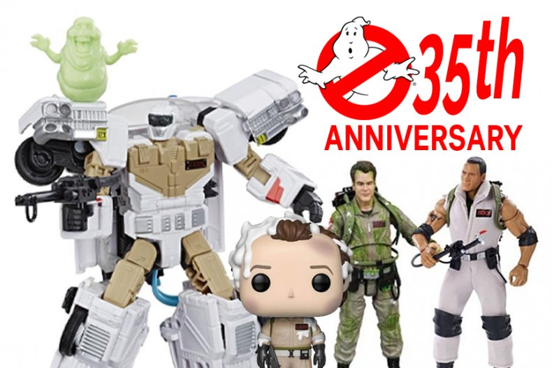 Ghostbusters 35th Anniversary Action Figures Collectibles
