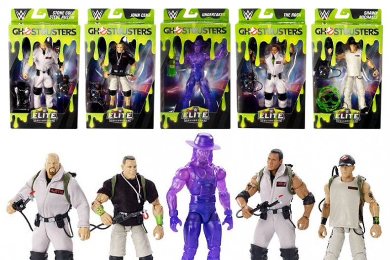 Ghostbusters WWE Elite Collection Mattel