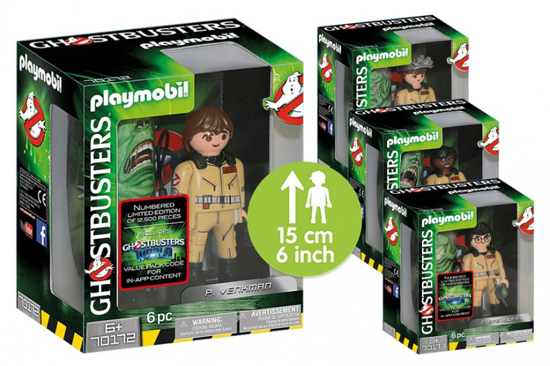 Ghostbusters Playmobil Deluxe Figures